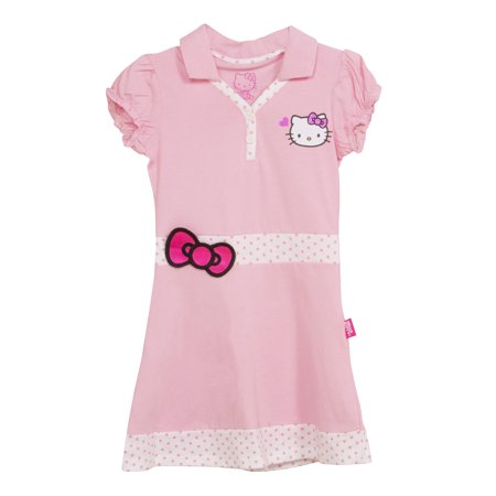 3t Princess Dress (MMA Holding Group, Inc D-PRINCESS. PK. 3T Princess Sleeve Collard Golf Dress - Pink - Size)