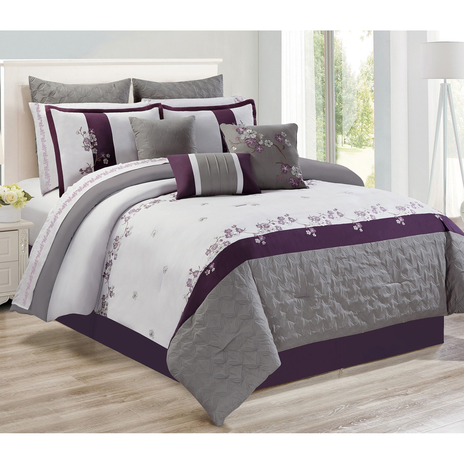 Adina 7 Piece Comforter Set by Safdie and Co