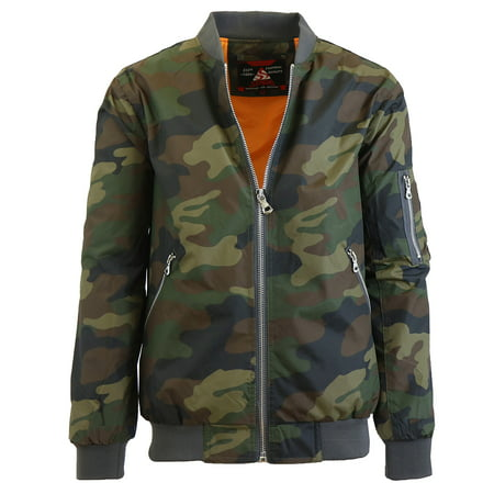 GBH - Mens Lightweight MA-1 Bomber Flight Jackets - Walmart.com 99372677aac