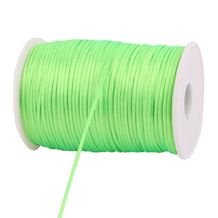 Nylon Chinese Knot Crafts DIY Braided Cord Light Green 2.5mm Dia 109 Yards - image 2 of 3