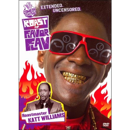 COMEDY CENTRAL ROAST OF FLAVOR FLAV (DVD) (UNCENSORED)