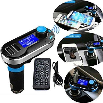 Soonhua 5in1 wireless bluetooth car music player fm trans...