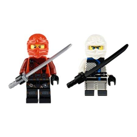 Ninjago Set of 20 Figures - Wooden Children Assembled Building Blocks Toys Gift - image 6 de 9