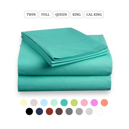 Basic Choice Microfiber 4 Piece Deep Pocket Queen Bed Sheet Set ()