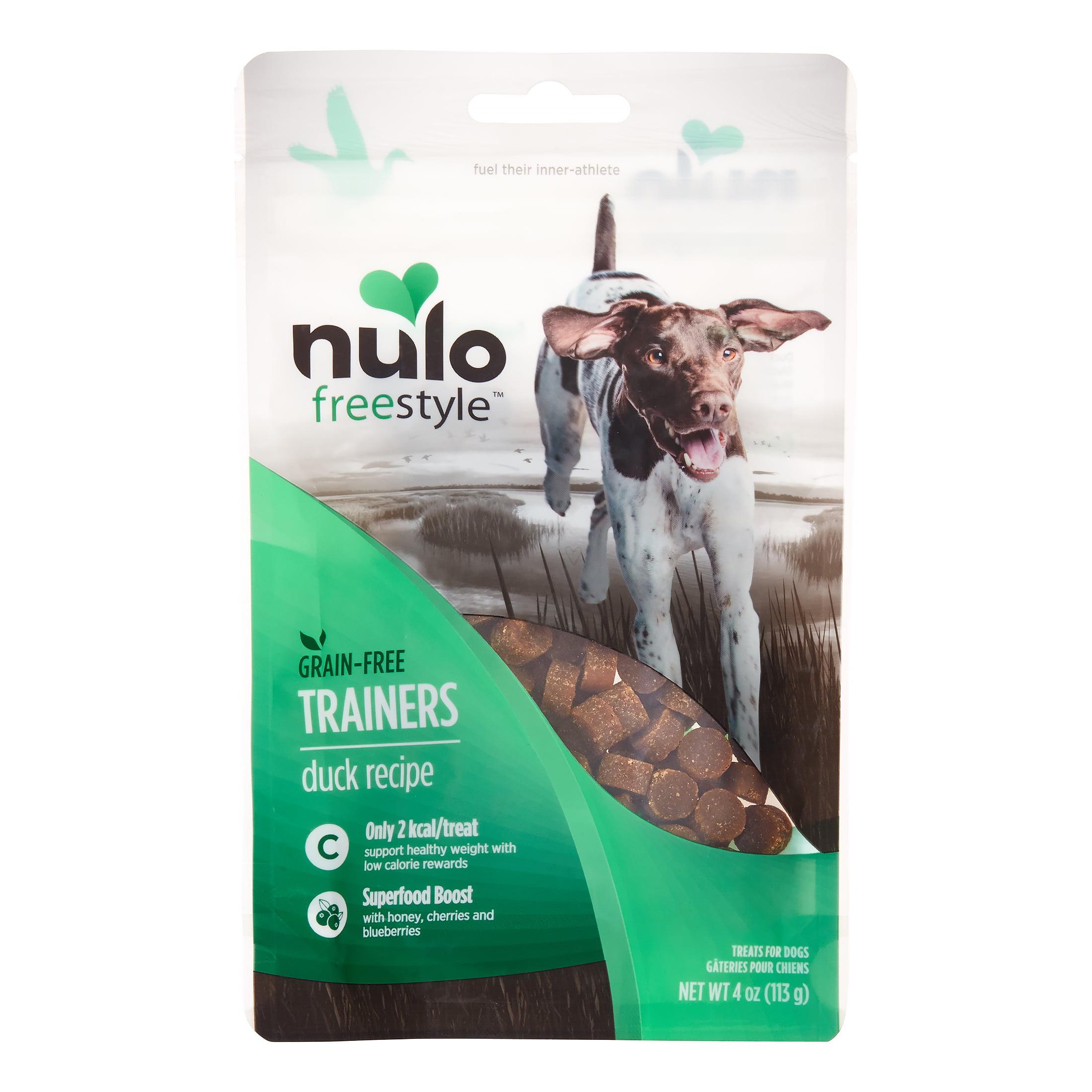 Nulo FreeStyle Duck Training Dog Treats, 4 Oz