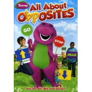 Barney: All About Opposites by