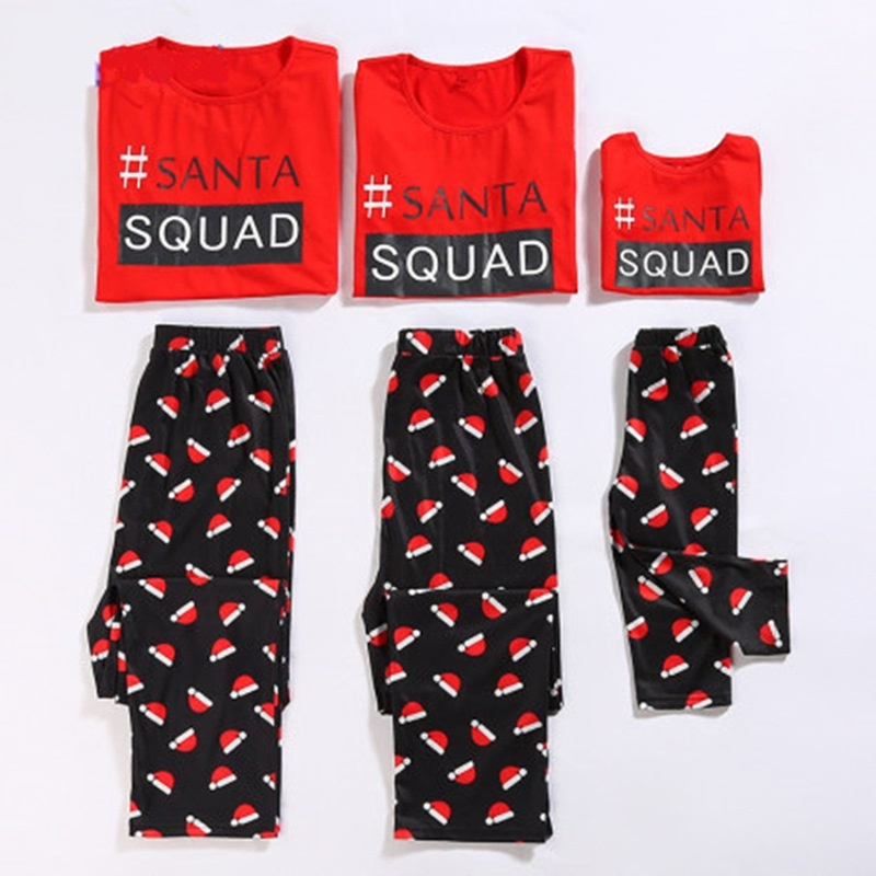 Fashion Family Matching Christmas Pajamas Set Women Baby ...
