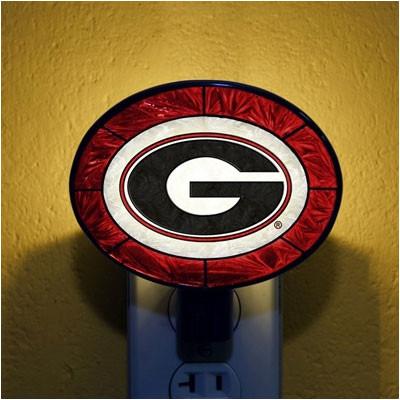 The Memory Company NCAA Art Glass Night Light