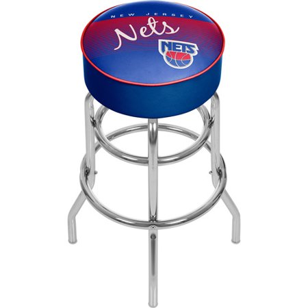 New Jersey Nets NBA Hardwood Classics Bar Stool