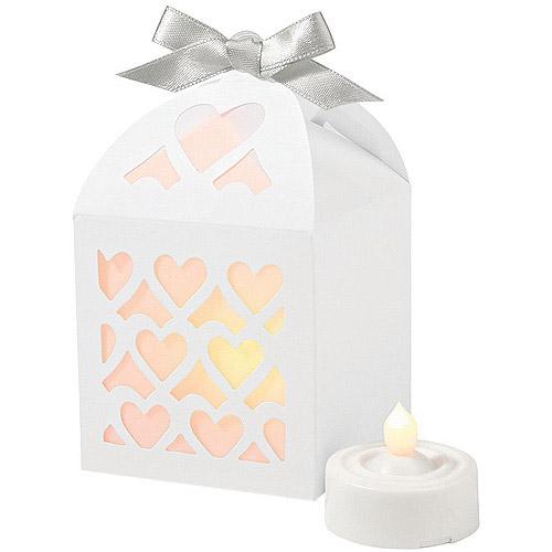 Wilton Paper Lantern Favor Box Kit, White 50 ct. 1006-1177