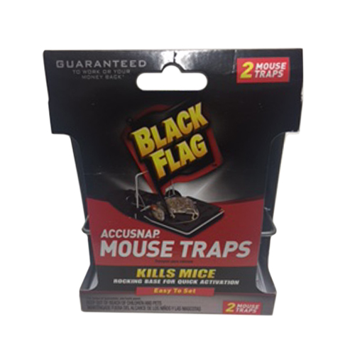 Black Flag Accusnap Mouse Trap, 2-Pack