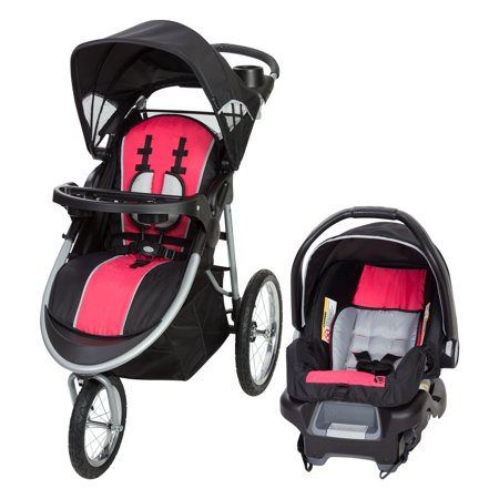 - Baby Trend Pathway 35 Jogger Travel System-Optic Pink
