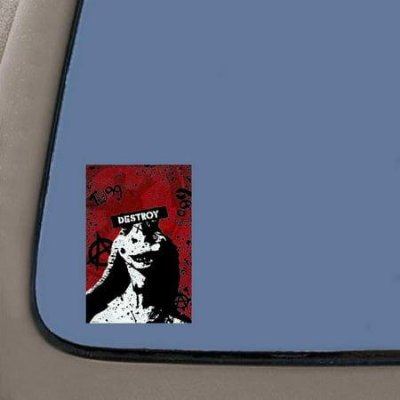 Destroy Jar Jar Binks Laptop Sticker Decal | 5.5-Inches By 3.6-Inches | Laptop Macbook Decal | Car Truck Van SUV Laptop Macbook Wall Decals](Jar Jar Binks Mask)