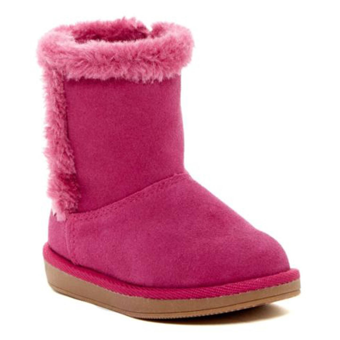 Stride Rite Arabella Girls Boot, Fuchsia (Toddler)5 M by Stride Rite