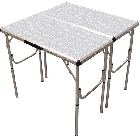 Coleman Aluminum Pack Away Adjustable Height Table