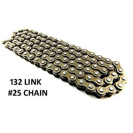 Driven Chain - Razor MX500 and MX650 Dirt Rocket Chain -  132 Link Chain | #25 Chain 132L | Razor MX500 Electric Drive Chain | MX650 Dirt Bike | Razor SX500 | MiniMoto XRF500
