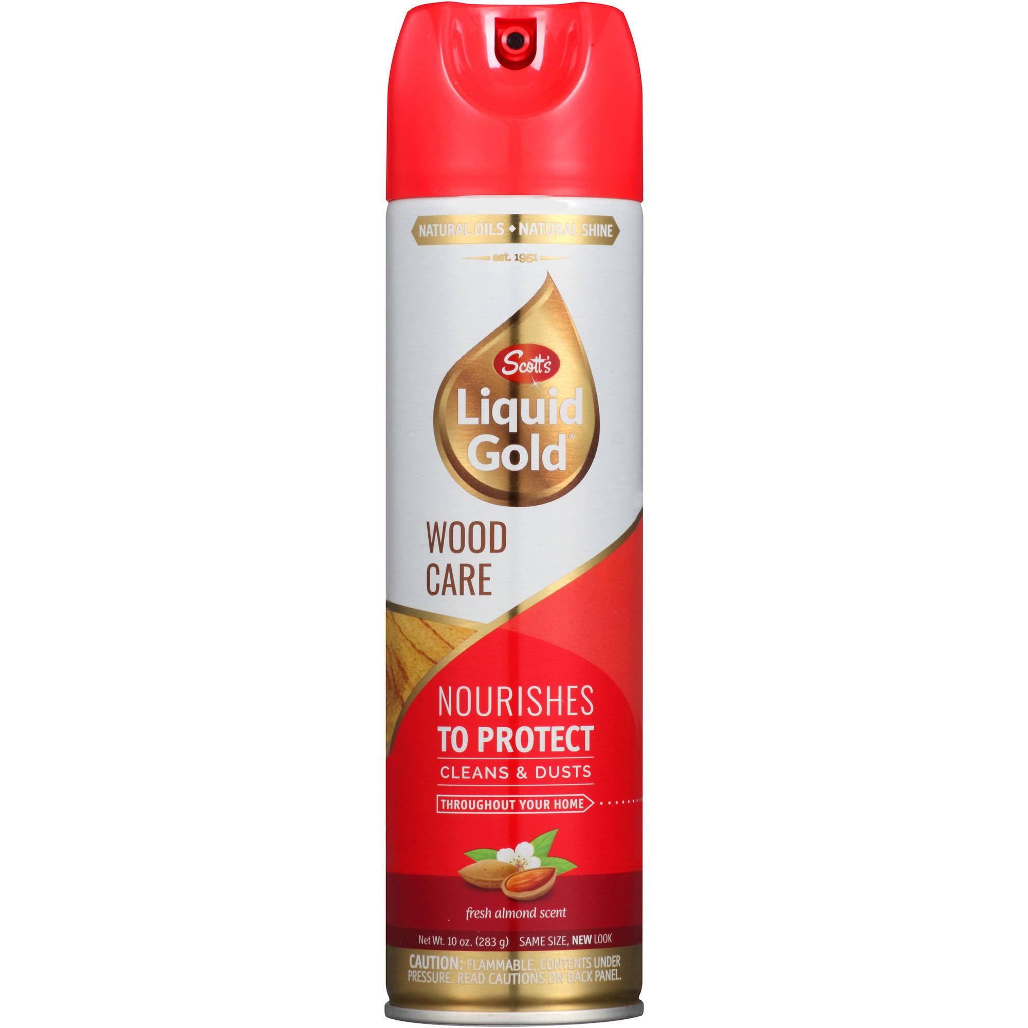 Scott's Liquid Gold Almond Scent Wood Cleaner & Preservative, 10 oz
