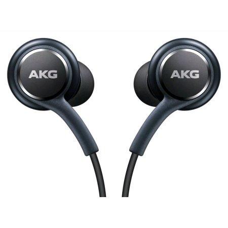 Akg K701 Headphones - Samsung Earphones by AKG  For Galaxy S8 & S8 Plus W Extra Ear Gels, Grey, Bulk