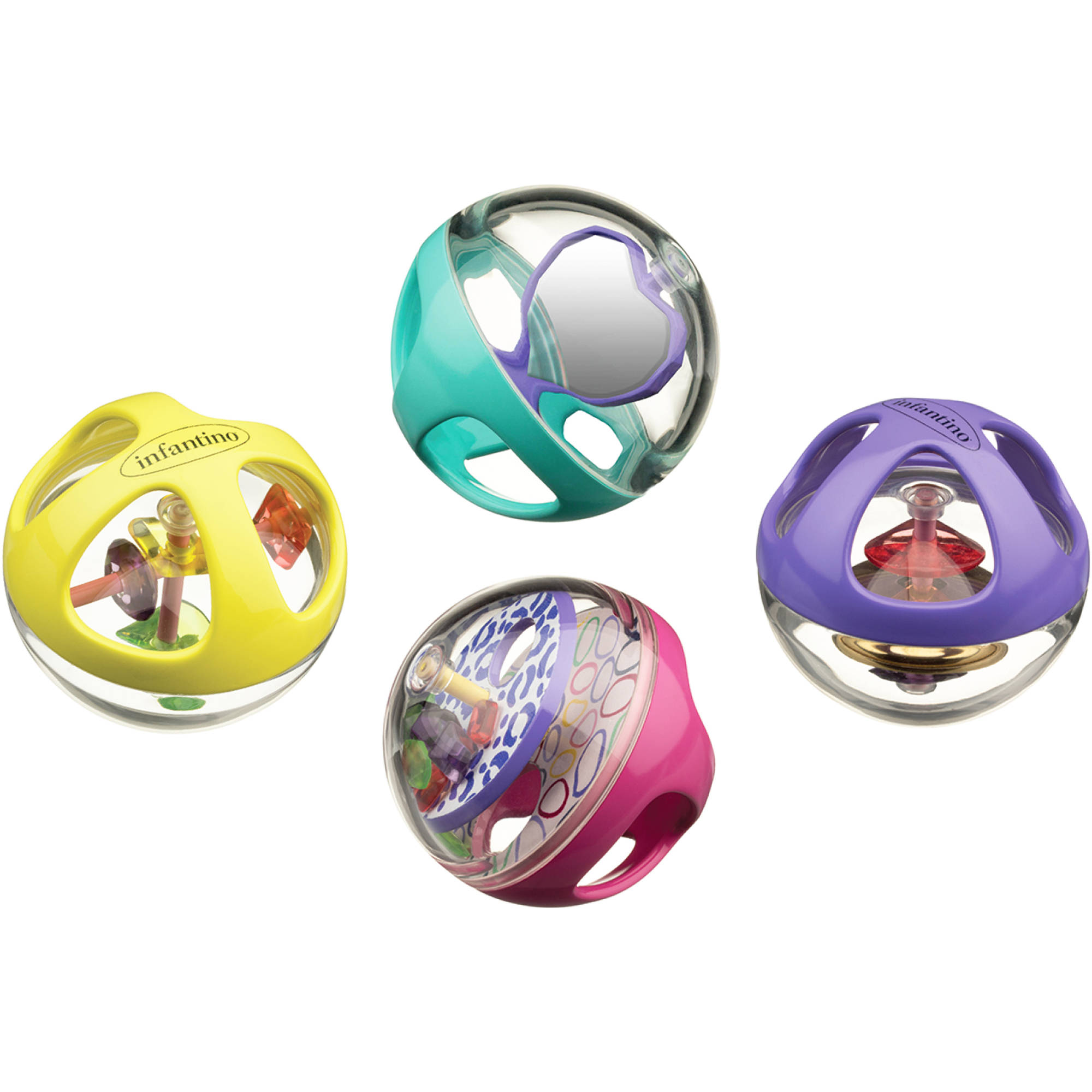 Infantino Sensory Jinglin' Gems Activity Balls