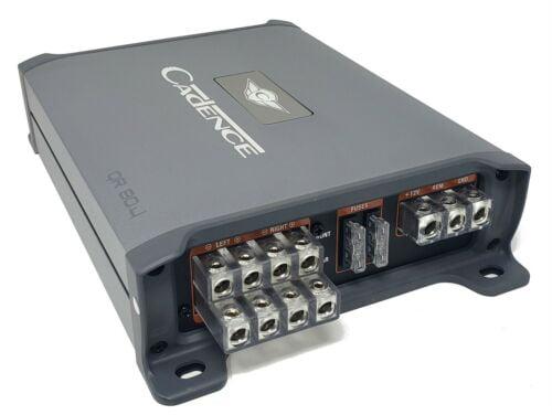 Cadence QR80.4 Class D 4 Channel Amplifier 80 X 4 RMS at 4Ω Cadence Acoustics Ltd