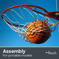 Basketball Hoop Assembly - Portable by Porch Home Services