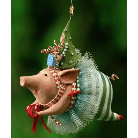 Patience Brewster Krinkles Joyful Flying Pig Ornament Patience ...