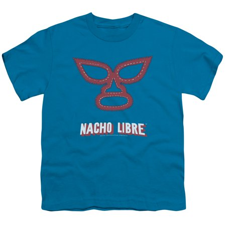 Big Kids Turquoise Apparel (nacho libre/mask   s/s youth 18/1   turquoise     par204)