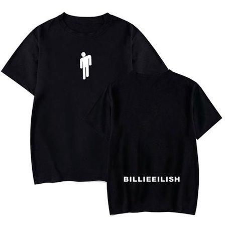 Fancyleo Billie Eilish T Shirt Women's Fashion Sports Casual Round Neck Short Sleeve