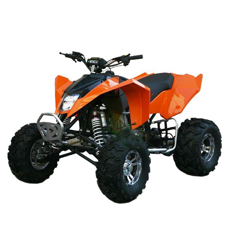 T4B MADMAX ADULT ATV 250cc Dirt Quad Recreational Outdoors, Off-Road, All Terrain, 4 stroke, single-cylinder, air-cooled - Black - image 4 de 7