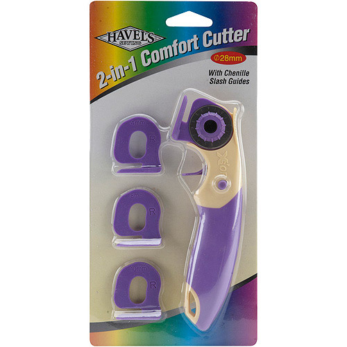 Havels 28-Millimeter Rotary and Chenille Cutter Multi-Colored