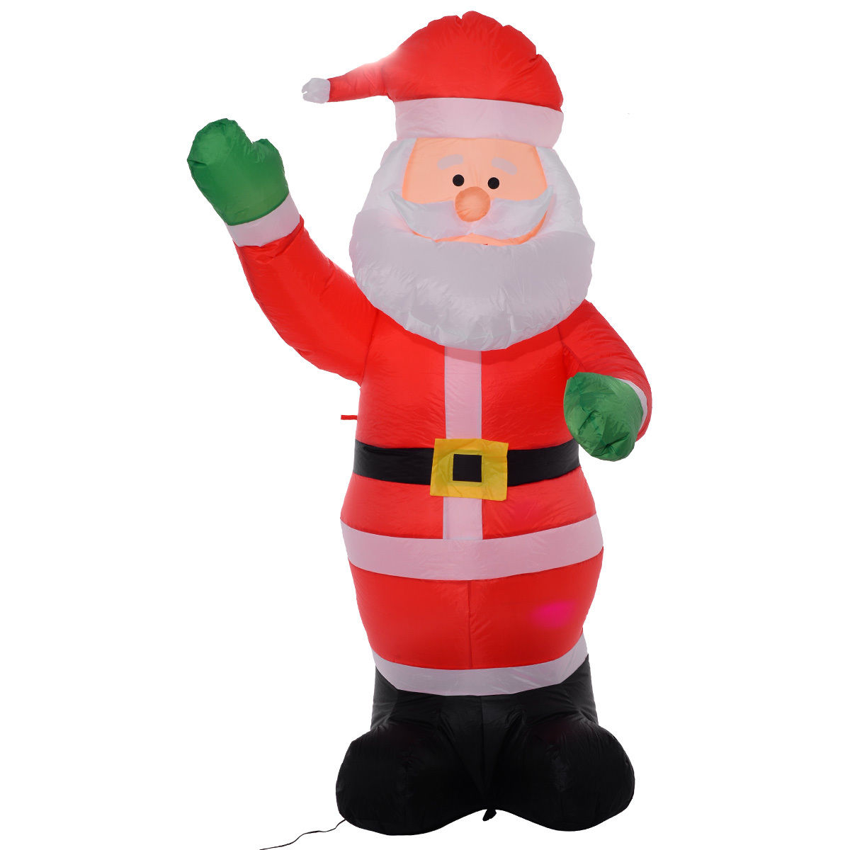 Costway 6 Ft Airblown Inflatable Christmas Xmas Santa