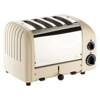 Dualit 4 Slice NewGen Toaster Utility Cream