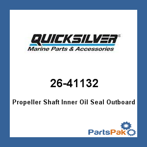 Mercury - Mercruiser 26-41132 Mercury Quicksilver 26-41132 Propeller Shaft Inner Oil Seal Outboard-