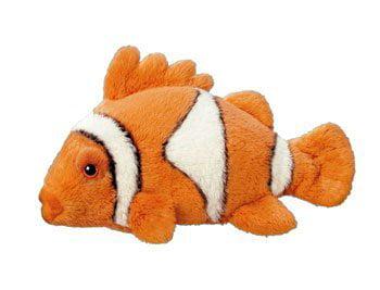 """7/"""" Clownfish Plush Stuffed Animal Toy"""