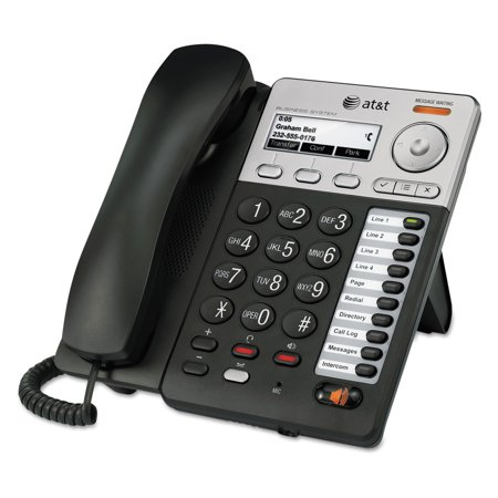 (AT&T Syn248 SB35025 Corded Deskset Phone System, For Use with SB35010 Analog Gateway)