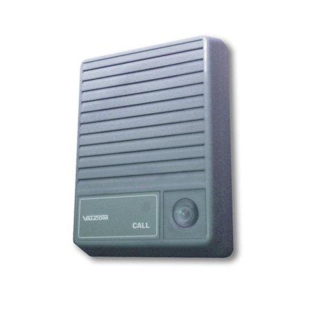 Talkback Doorplate (VALCOM VC-V-1074M Talkback Doorplate Surface Speaker-)