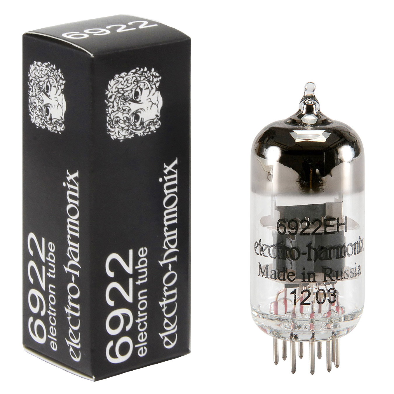Electro-Harmonix 6922 EH Vacuum Tube Single by New Sensor