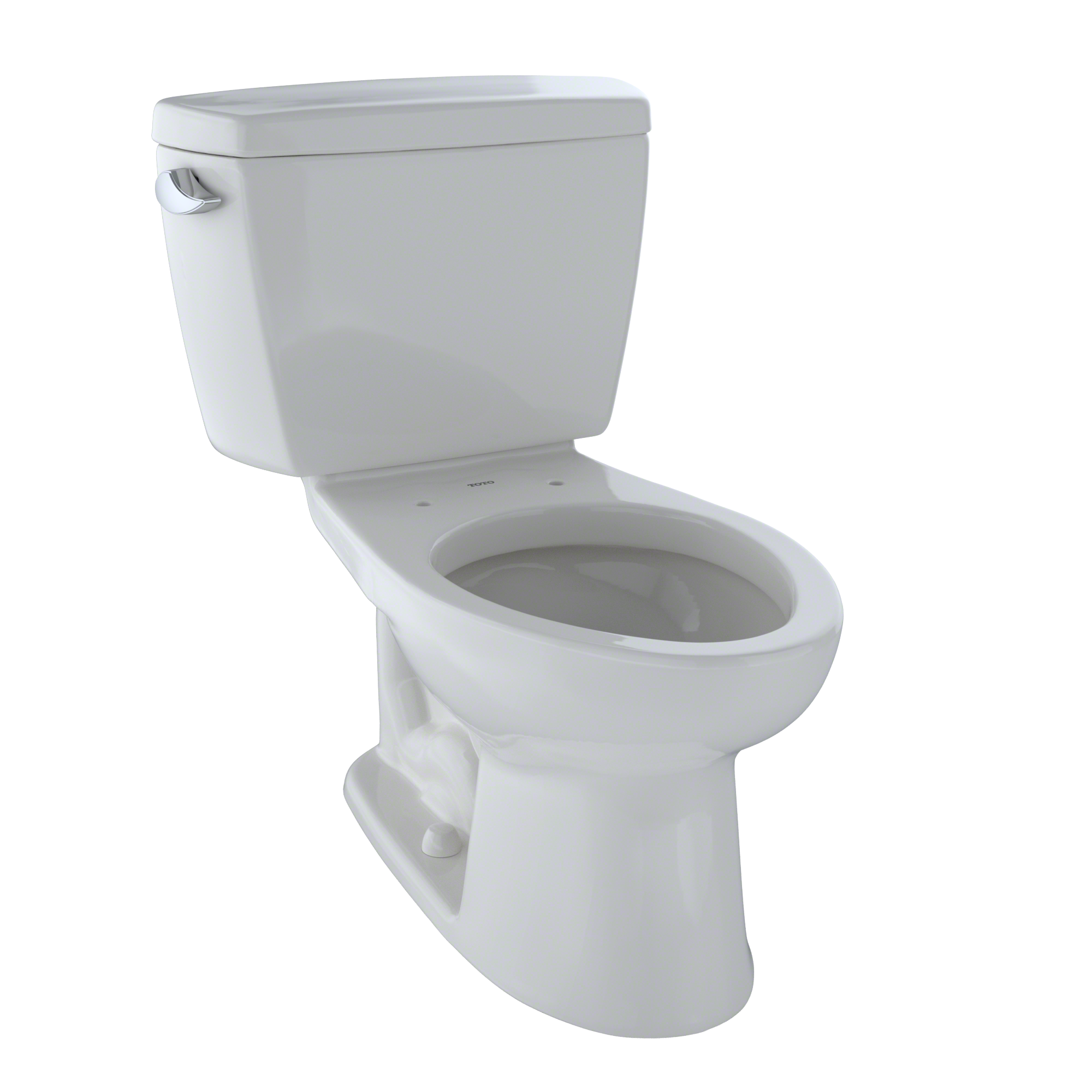 TOTO® Eco Drake® Two-Piece Elongated 1.28 GPF Toilet, Colonial White - CST744E#11