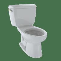 TOTO Eco Drake Two-Piece Elongated 1.28 GPF Toilet, Colonial White - CST744E#11