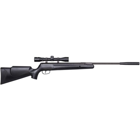Benjamin Nitro Piston Powered Prowler NP Air Rifle, .22 cal, 4x32 Scope BPNP82SX Airsoft Shotgun Rifle Toy