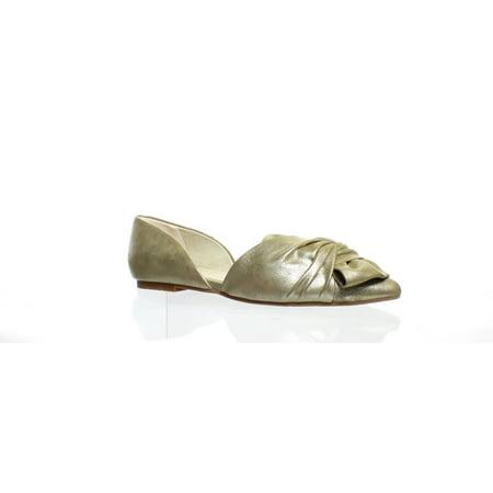 BC Footwear Womens Snow Cone Gold/Metallic Ballet Flats Size 8.5