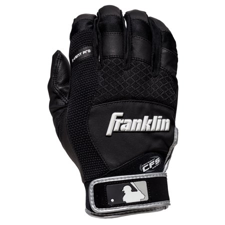 Franklin Sports MLB X-Vent Pro Adult Small Batting Gloves, (Upper Hand Batting Gloves)