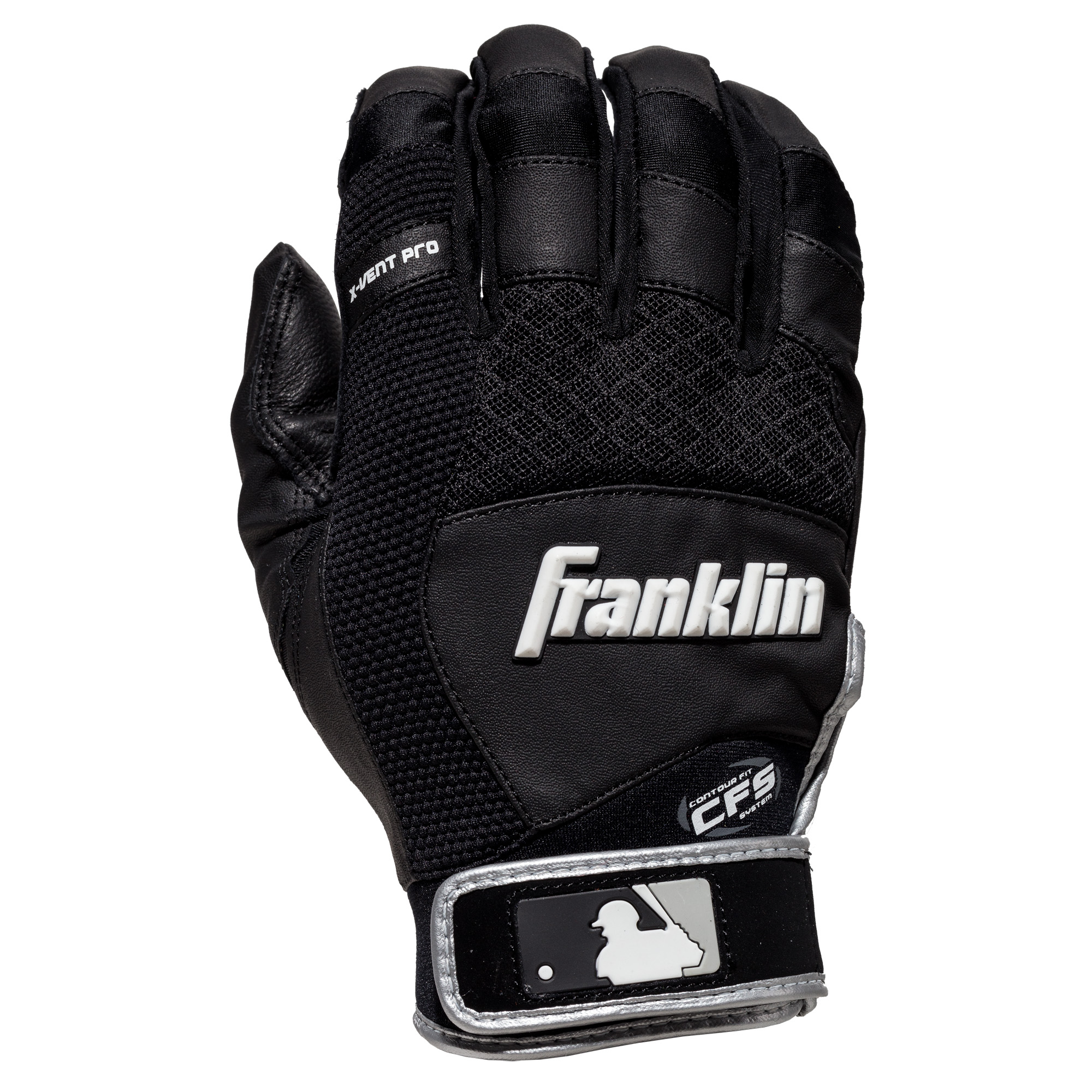 Franklin Sports MLB X-Vent Pro Adult Batting Gloves