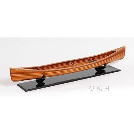 Old Modern Handicraft Canadian Canoe