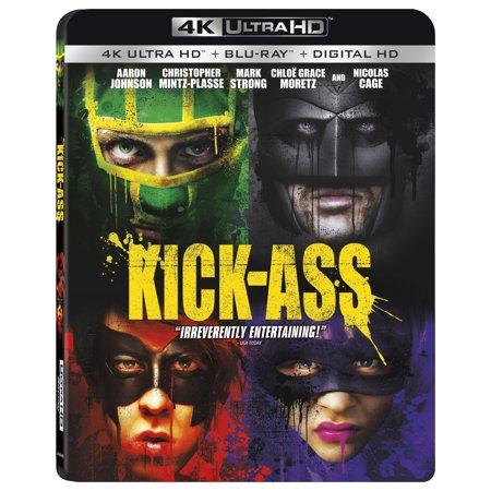 Kick-ass (4K Ultra HD + Blu-ray + Digital HD) (Pelicula Completa Kick Ass 2 Espanol Latino)