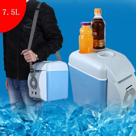 Ejoyous 7 5L Portable Mini Car Fridge Freezer Cooler Warmer 12V Camping  Travel Refrigerator,Warmer Fridge, Cooler Fridge | Walmart Canada
