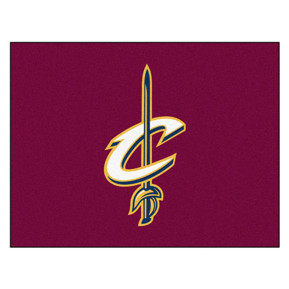 """NBA - Cleveland Cavaliers All-Star Mat 33.75""""x42.5"""""""