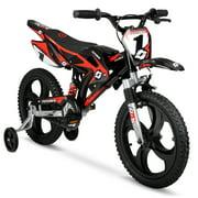"""Hyper 16"""" Mag Wheels Motobike, Kids Bike, Black/Red"""