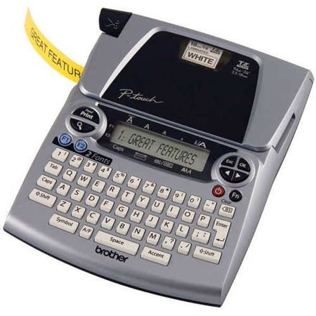 brother labeling system pt1880c p-touch label maker - walmart