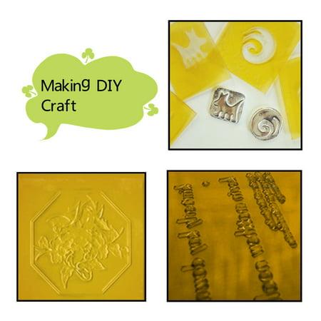 1pcs 20x30cm Photopolymer Plate Rubber Stamp Making Craft Letterpress Polymer Die DIY - image 1 of 7